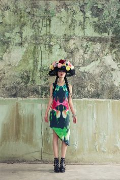 MODA Magazine Singapore, The Wallflower fashion editorial behind the scenes, also featured on Vogue Italia