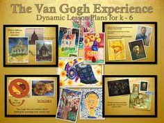 FREE for a Week! *New* Van Gogh Impressionism (Elementary Art K-5 Lessons Check it out and let me know what you think by rating it or leaving feedback. Thanks!