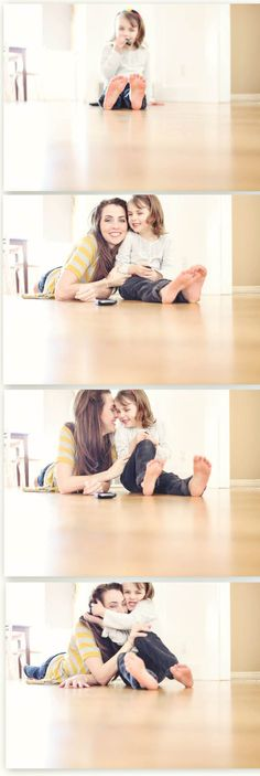 Need to do this with each of my little ones. So Sweet!