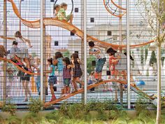 Architecture and design firms are remaking the playground in ways you'd never expect