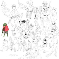 Alexandre Zedig Diboine - Sketches