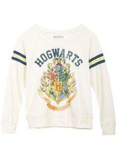 Harry Potter, Hogwarts Crewneck Sweatshirt.