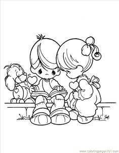 Precious Moments Valentines Day Coloring Pages - Coloring For Kids 2019 Coloring Pages To Print, Free Printable Coloring Pages, Coloring Book Pages, Coloring Pages For Kids, Coloring Sheets, Kids Coloring, Precious Moments Coloring Pages, Valentines Day Coloring Page, Illustrations