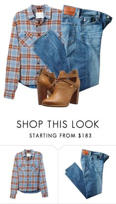 """""""Untitled #2344"""" by niallhoranloveraustralia ❤ liked on Polyvore featuring R13, AG Adriano Goldschmied and Frye"""