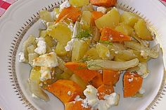 Süßkartoffel - Kartoffel - Fenchel - Auflauf, ein schönes Rezept aus der Kategorie Auflauf. Bewertungen: 170. Durchschnitt: Ø 4,3.