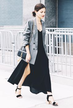 How to Dress Appropriately for Work When It's Really Hot Out via @WhoWhatWear