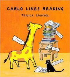 Happy Carlo is a reader
