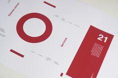 Old New Room Design Corporate identity by Mauro Rapisardi, via Behance