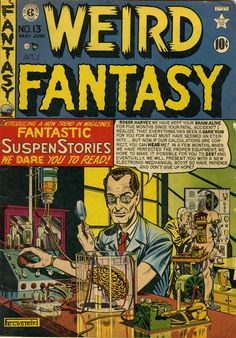William Maxwell Gaines (March 1, 1922 – June 3, 1992), better known as Bill Gaines, was an American publisher and co-editor of EC Comics. Following a shift in EC's direction in 1950, Gaines presided over what became an artistically influential and historically important line of mature-audience comics. He published the popular satirical magazine MAD Magazine over 40 years.