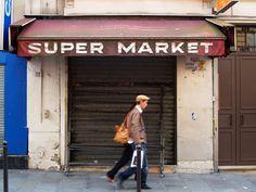 SUPER MARKET, Paris, France, 2009  © Emmanuel Bertrand