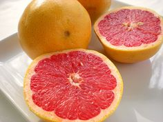 Grapefruit with lots of sugar!