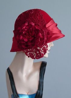 Vintage hat - I think I could pull this off in another color