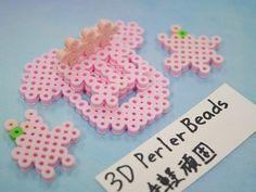 2017_1103_150857p1170720 3d Perler Bead, Perler Beads, Paper, Projects