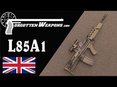 The WORST Modern Military Rifle in Service Today. You've likely seen this gun possessed by Queen Elizabeth's guards Sterling Smg, Shooting Bench, Battle Rifle, Military Careers, Submachine Gun, Career Advice, Weapons, Guns, War