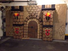VBS Kingdom Rock decoration -Castle backdrop