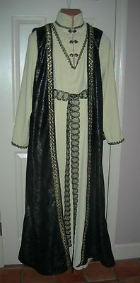 Renaissance/Medieval/Cosplay/SCA Elven Lord Belted Long Tunic  Long Vest  M/L