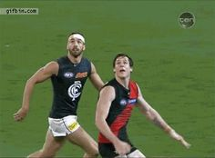 It's called a specky in AFL and it's legal