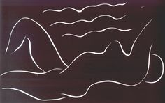 Matisse Nude Among the Waves 1938.