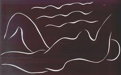 Henri Matisse Nude Among the Waves, 1938
