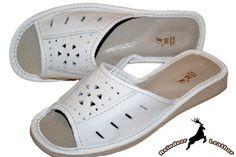 Snowy White Flip flop