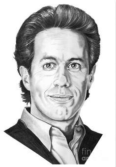 Jerry Seinfeld by Murphy Elliott ~ traditional pencil art