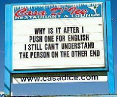 English Language Please