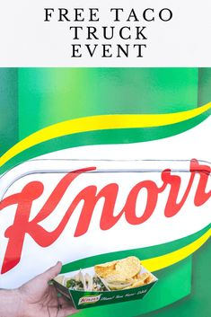 Free Taco Truck Event with Knorr Selects – Posh Journal Free Taco, Travel Destinations Beach, Free Chickens, Chicken Tacos, Travel With Kids, Beach Trip, The Selection, Fun Facts, Snack Recipes