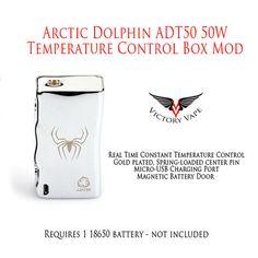 Arctic Dolphin ADT50 50W VV/VW Temperature Control Box Mod – Victory Vape
