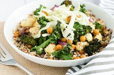 Recipe: Roasted Veggie Buddha Bowl