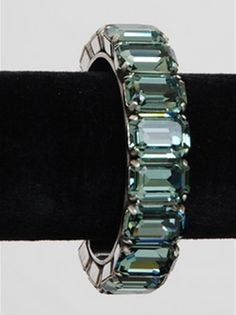 Silver & Indian Sapphire Cuff Bracelet — The Hip Chick