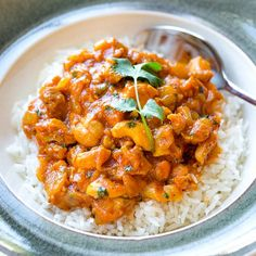 Cashew Chicken Curry—packed with flavor, warming spices, and crunch!
