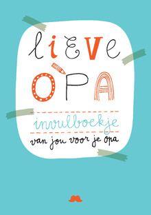 In de boekjes 'Lieve Oma' en 'Lieve Opa', vol met vrolijke vragen en… Crafts For Boys, Diy For Kids, Cool Kids, Book Cover Design, Book Design, Pregnancy Books, Grandma Gifts, Mother And Father, Mini Books