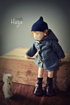 Hugo, by LesPouPZ Handmade Dolls http://indiecart.com/lespoupz/mt/115/50270/Hugo-OOAK-Waldorfdoll-185-inches-47cm