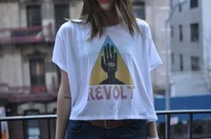 """Revolt"" t-shirts now on sale!     http://nygxcb.bigcartel.com/"