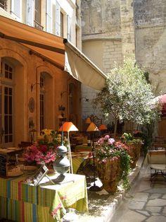 secret bistro in Avignon, Vaucluse, Provence