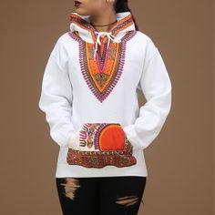 Afrination Dashiki Hoodie - Afrination By Kofi Jr. African Tops, African Shirts, African Wear, African Dress, African Style, African Inspired Fashion, African Print Fashion, Dashiki Hoodie, Couples African Outfits