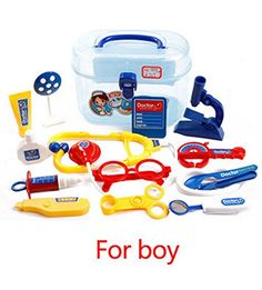 Children's Play Toy Medical Doctor Playsets Toolbox(Color Random) -- To view further for this item, visit the image link.