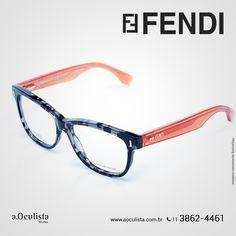 Vários modelos Fendi para você escolher!  É só acessar www.aoculista.com.br/fendi  Compre em Até 10x Sem Juros e frete grátis nas compras Acima de R$400,00  #fendi #glasses #oculosdesol #oculos #eyeglasses #aoculista