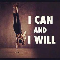 Puedo y lo haré
