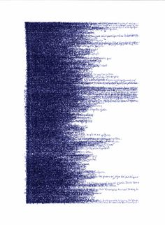 mythologyofblue:  Nina Papaconstantinou (viathememoryofacolor)  (handwritten text, in greek, overlapping and obscure)