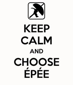 #fencing #sport #epee