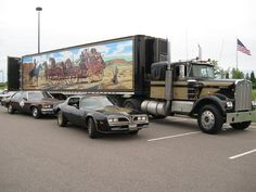 "18 Wheel Beauties: Truck Replica: Snowman's Rig from ""Smokey & The Bandit"""