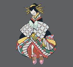 Sneaker geisha