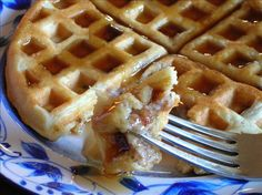 Fresh Sausage Waffles from Food.com: Mmm,this sounds like something you would order up in a fancy little diner!