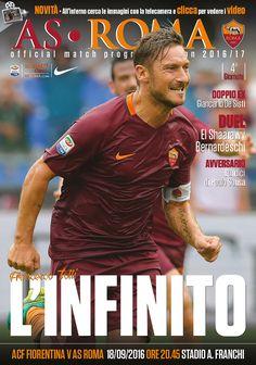 Prepariamoci a Fiorentina-Roma grazie al nostro match program. In questo numero un focus su Francesco Totti, l'intervista al doppio ex Giancarlo De Sisti, lo studio dell'avversaria e molto altro
