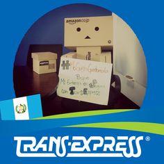 """Colaboradores TransExpress dicen:  """"#MeGustaGuatemala PORQUE MI ENTREGA ES SEGURA CON TRANSEXPRESS"""" Danbo - de Amazon  COMPRA SEGURO CON TRANSEXPRESS"""