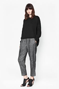 Ivy Lace Slouchy Jumper - Knitwear - French Connection