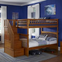 best 25 bunk beds with stairs ideas on pinterest bunk beds with steps kids bunk beds and. Black Bedroom Furniture Sets. Home Design Ideas