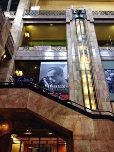 Henri Cartier-Bresson at the Palacio de Bellas Art...