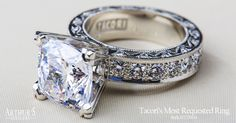 Is this The One? Find your Tacori ring at... Arthur's Jewelers
